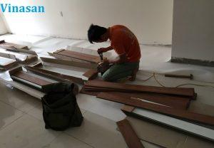 cấu tạo sàn gỗ công nghiệp, thi công sàn gỗ giá rẻ,