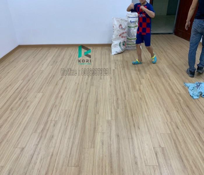 Thi công sàn gỗ tại Hà Đông Hà Nội