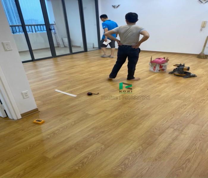 Lắp đặt sàn gỗ tại quận tây hồ Hà Nội