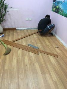 thi công lắp đặt sàn nhựa giả gỗ, thợ thi công sàn nhựa hàn quốc, đại lý làm sàn nhựa cao cấp,