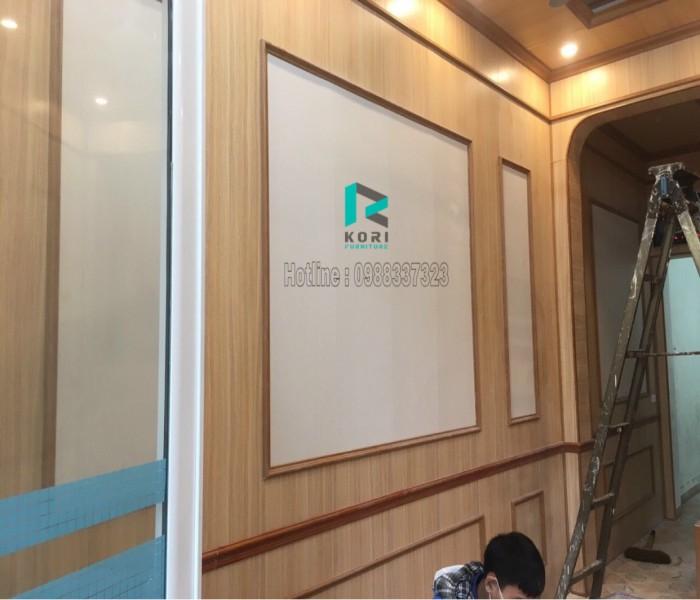 Thi công tấm nhựa ốp tường tại quận Hoàn Kiếm giá rẻ